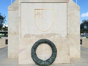 War Memorial (Floriana) - Image: War memorial floriana 1