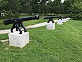 War of 1812 Memorial Cannons, Patterson Park, Baltimore, MD (34454757793).jpg