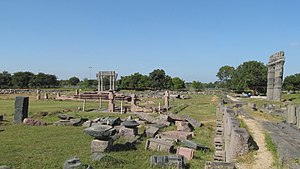 Warangal Fort - Ruins within the main fort complex