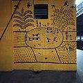 Warli art at Borivali Stn 03.jpg