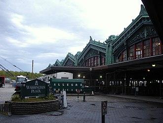 George Warrington - Warrington Plaza next to the Hoboken Terminal