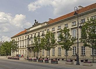 Tyszkiewicz family - Image: Warsaw 07 13 img 28 Tyszkiewicz Palace