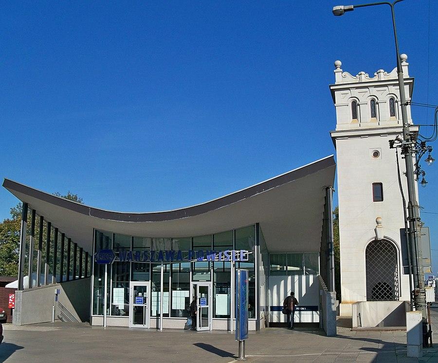 Warszawa Powiśle railway station