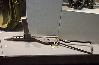 Sten - A Sten Mk II held in the Polish Home Army Museum, Kraków, Poland.