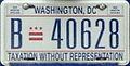 Washington, D.C. bus license plate.jpg