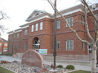 Washington County, Utah - Washington County School District Office in St. George, Utah.