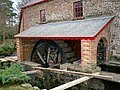 Waterwheel at Former Threshing Mill, Aghagallon - geograph.org.uk - 715918.jpg
