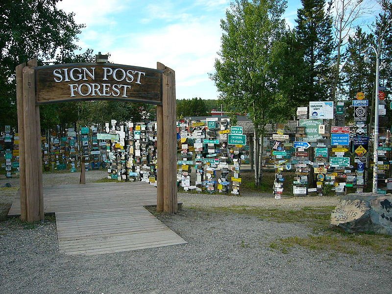 Sign Post Forest, Watson Lake, Yukon