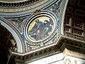 Watykan Bazylika sw Piotra medalion pod kopula.JPG