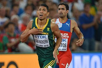 2015 World Championships in Athletics – Men's 400 metres - Wayde van Niekerk fourth fastest in history