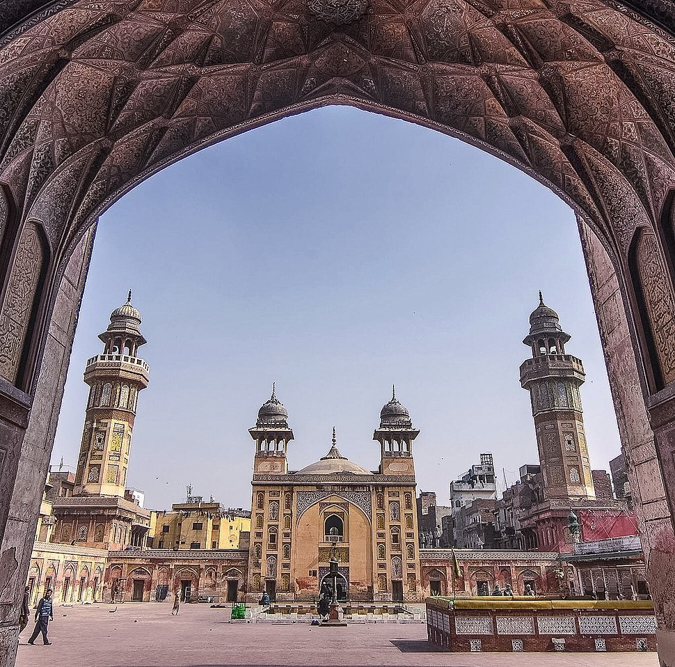 Wazir khan mosque entry