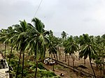 Weather just before Phethai cyclone stuck in Visakhapatnam.jpg