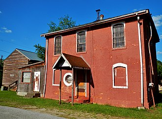 Preston, Georgia - Image: Webster County Jails; Preston, GA (NRHP)