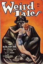 Weird Tales cover image for October 1934
