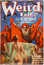 Weird Tales cover image for October 1936