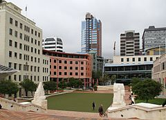 Civic Square w 2016 roku