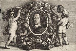 Pieter van Avont - Pieter van Avont by Wenceslaus Hollar