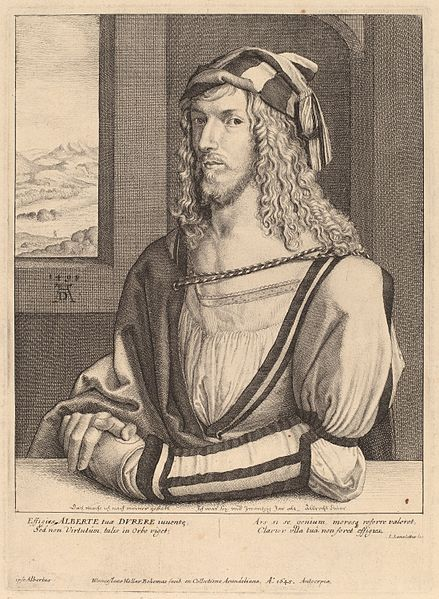 Archivo:Wenceslaus Hollar after Albrecht Dürer - Albrecht Durer.jpg