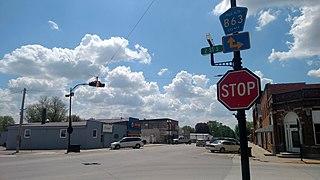 West Bend, Iowa City in Iowa, United States