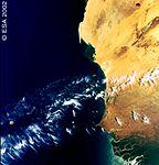 West Coast of Africa - First MERIS image.jpg