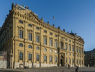 West facade of the Wurzburg Residence 05.jpg