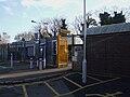 Westcombe Park stn north entrance.JPG