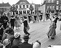 Westfriese Marktdag voor de vijfde maal in Schagen opvoeren van de Oudhollandse , Bestanddeelnr 910-4877.jpg