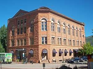 Willoughby J. Edbrooke - Wheeler Opera House, a landmark in the center of Aspen, Colorado