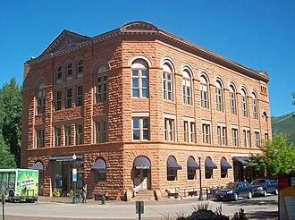 Willoughby J. Edbrooke - Wheeler Opera House, a landmark in the center of Aspen, Colorado