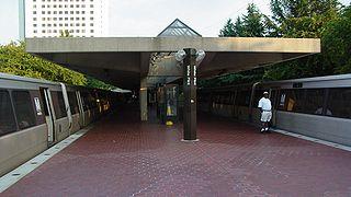 White Flint station Washington Metro station