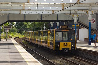 Whitley Bay Metro station Tyne and Wear Metro station in North Tyneside