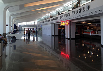 Wichita Dwight D. Eisenhower National Airport - Interior view of the Wichita Dwight D. Eisenhower National Airport which opened June 3, 2015.
