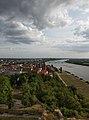 Widok z Wieży Klimek, Zamek krzyżacki w Grudziądzu.jpg