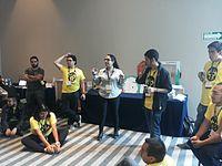 Wikimania 2015-Thursday-Volunteers (8).jpg