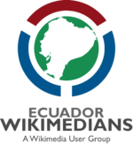 Wikimedians of Ecuador User Group Logo PNG version.png