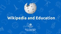 Tutorial on the uses of Wikipedia in Education
