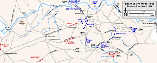 Battle of the Wilderness  Wikipedia