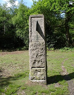 The William Willett Memorial Sundial in Petts Wood, south London, is always on DST. Willett memorial.JPG