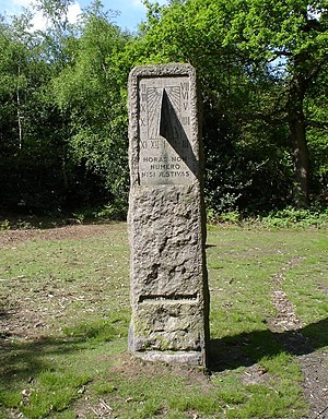 Petts Wood - The William Willett memorial sundial