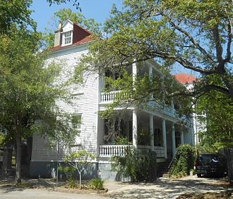 William Johnson (judge) - The home of Justice Johnson still stands at 156 Rutledge Ave. in downtown Charleston, South Carolina.