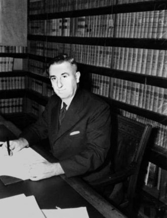 William Webb (judge) - Webb in 1940, as Chief Justice of Queensland