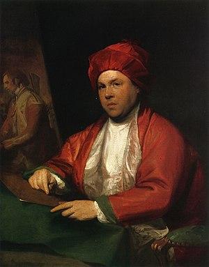 William Woollett - William Woollett, oil on canvas, by Gilbert Stuart, 1783. Tate Britain