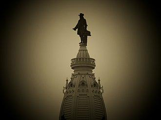 William Penn (Calder) - Image: Williampennfront