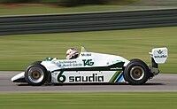 Williams FW08 1982 at Barber 01.jpg