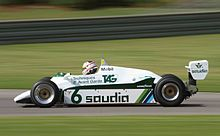 Photo de la Williams FW08