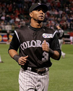 Willy Taveras Dominican baseball player