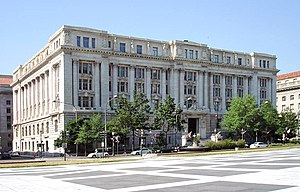 District of Columbia home rule - The John A. Wilson Building is home to the mayor and the 13 members of the Council of the District of Columbia.