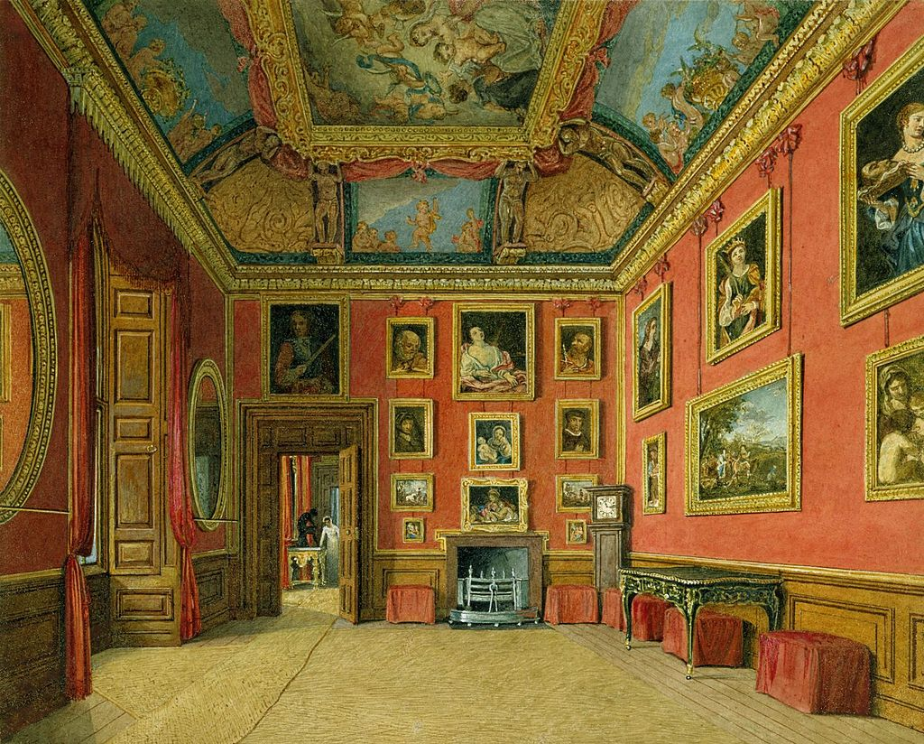 Windsor Castle, King's Dressing Room, by Charles Wild, 1816 - royal coll 922105 257031 ORI 1.jpg