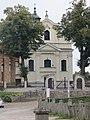 Winna Góra, kościół św. Michała Archanioła, widok od pd. (3).JPG