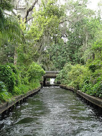 Winter Park, Florida - A canal in Winter Park